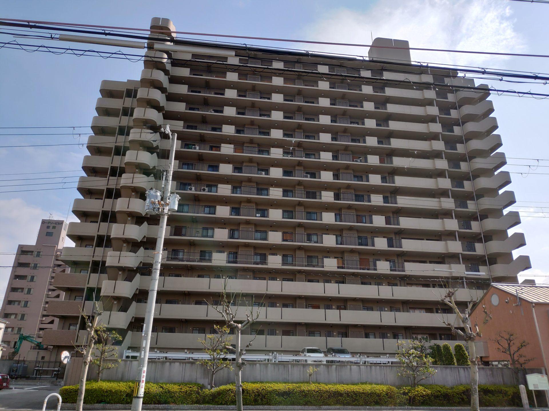 堺宿院グリーンマンション 外観2