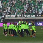セレッソ大阪VS松本山雅試合前練習_3