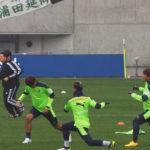 セレッソ大阪VS松本山雅試合前練習_5