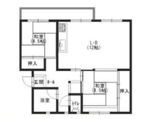 新金岡第三団地住宅7-4号棟109号室
