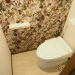 帝塚山西4戸建 1階トイレ