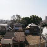 帝塚山西4戸建 ルーフバルコニー眺望