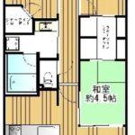 リビオ堺ステーションフロント14階部分 間取り